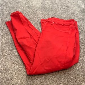 Red just black 31 skinny jeans